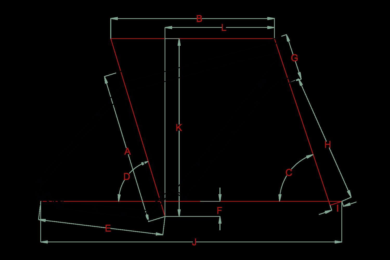 fahrrad rahmenform fahrrad geometrie raleigh fahrr der. Black Bedroom Furniture Sets. Home Design Ideas
